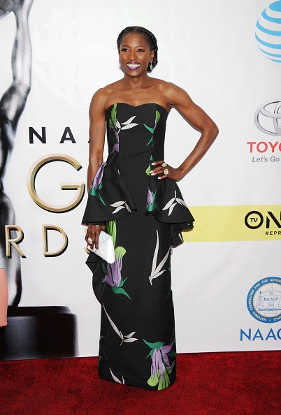 PASADENA, CA - FEBRUARY 11: Actress Rutina Wesley arrives at the 48th NAACP Image Awards at Pasadena Civic Auditorium on February 11, 2017 in Pasadena, California. (Photo by Jeffrey Mayer/WireImage)