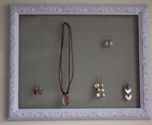 Shabby Chic Jewelry Display