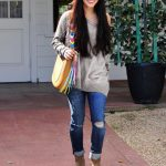 Vanessa Hudgens Spotted with the Henri Bendel W57th Tassel Hobo!