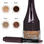 You can have bolder darker brows with Omosis Colour Brow Gel