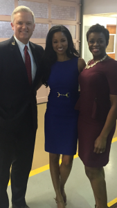WBTV Anchors John Carter, Christine Sperow & me :) Christine Sperow & WBTV John Carter