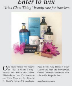 Malibu Times It's a Glam Thing Beauty Box