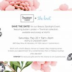 Save The Date | butter LONDON + The Knot at Kohl's | May 20th