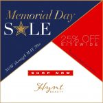 36 Hours Left!! 25% OFF MEMORIAL DAY SALE