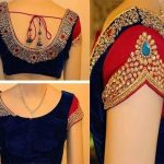 Top Blouse Designs for Wearing Wedding Sarees