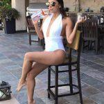 Eva Longoria Wears OYE Swimwear!