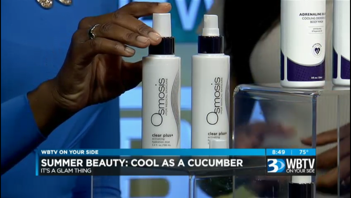 WBTV with John, Christine, me and some Summer Cool products! - It's