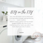 DIY on the FLY: Tip of the Week