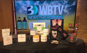 WBTV Set Up August 17