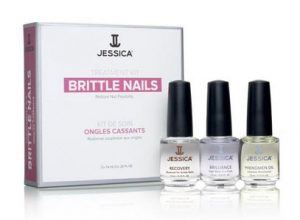 jessica cosmetics nail kit, dry, brittle, damaged