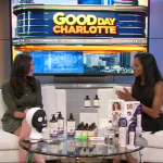 On Air today with Lindsay Clein on Good Day Charlotte