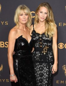 Robin Wright and daughter Dylan Penn