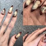 wicked-cool Halloween nail art
