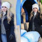 Sabrina Carpenter Wears Hat Attack and Rudsak!