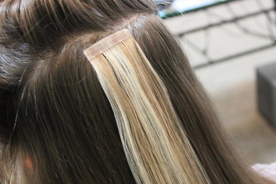 Why Do Hairstylists Choose Tape In Hair Extensions Its A Glam Thing