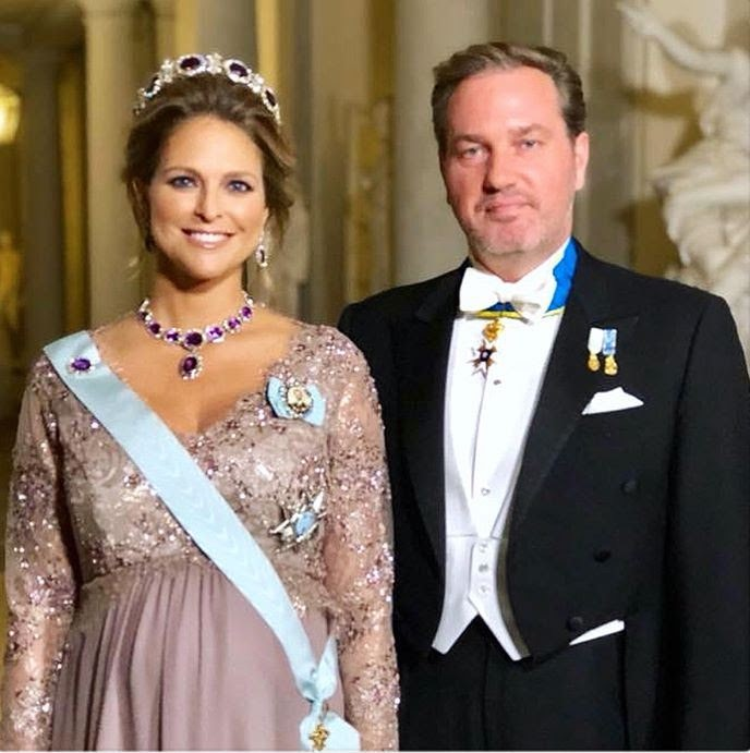 a09e30fed8 Princess Madeleine of Sweden Wears a Bespoke Séraphine Gown! - It s ...