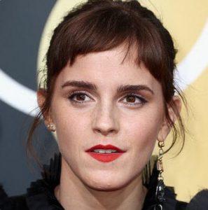 Emma Watson Golden Globes 2018