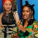 Actress, dancer, & singer Teyana Taylor unveiled nail salon