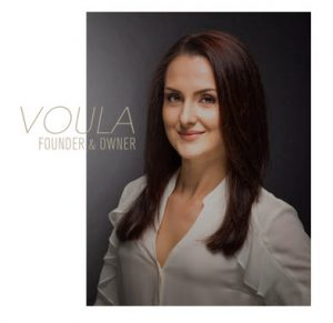 Voula Founder and Owner of Voula Beauty