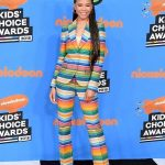Storm Reid wears ITEM m6 to Nickelodeon's 2018 Kids' Choice Awards!