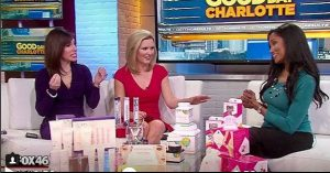Enya Flack previously on Good Day Charlotte