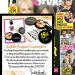 Coupon code for 15% off Judith August Cosmetics Brought To You By Life & Style Weekly