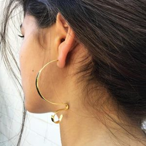Margaret Hoop Earrings