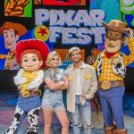 Olivia Holt Wears Modern Vice at Disney's Pixar Fest