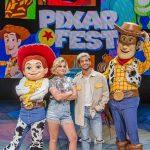 Olivia Holt Wears Modern Vice at Disney's Pixar Fest