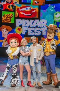 Olivia Holt at Disney's Pixar Fest