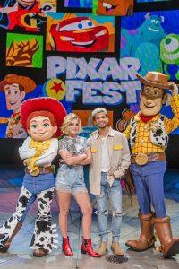 Olivia Holt at Disney's Pixar Fest