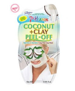 7th Heaven Coconut and Clay Peel-Off Mask from from Montagne Jeunesse