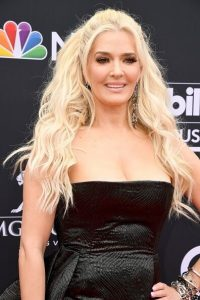 Erika Jayne at The Billboard Awards red carpet