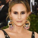 Vogue and W Magazine noted Keltie Knight's one-of-a-kind Anna Wintour earrings