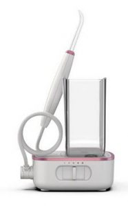 Sidekick® Water Flosser, White with Rose Gold