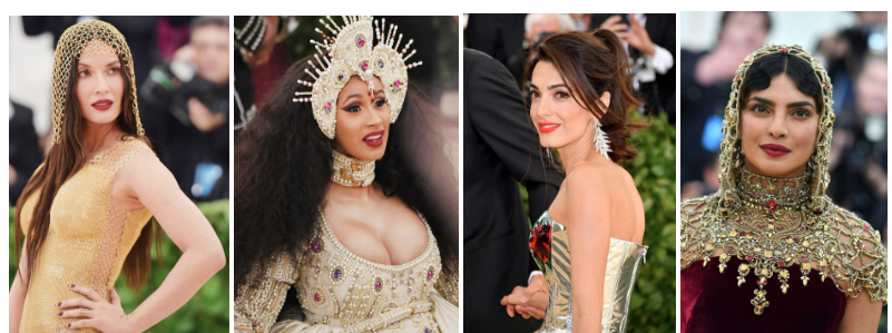 Celebrity Attendees of the 2018 Met Gala