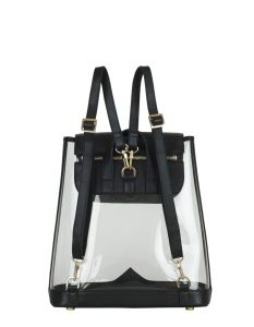 KELLY WYNNE CLEAR BACKPACK