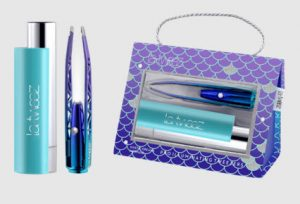 LaTweez Mermaid Illuminating Tweezers with Diamond Dust Tips