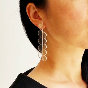 See Through Collection Cascade Earrings