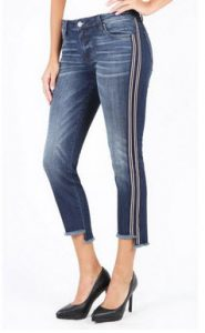 Reese Ankle Straight Leg With Fray Step Hem, Exclusive