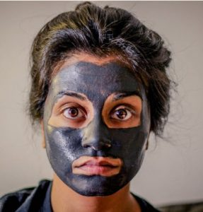Cleansing and exfoliating masques