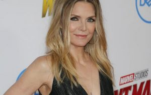 Actress, Michelle Pfeiffer, age 60 photographed in June 2018, makes Dr. Manish Shah's list of Celebrities who look elegantly age appropriate.