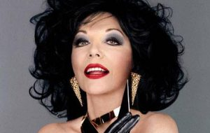 Joan Collins Image The Telegraph