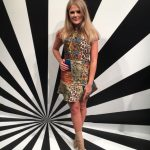 Madison Daniel Wears A Stacey Bendet original