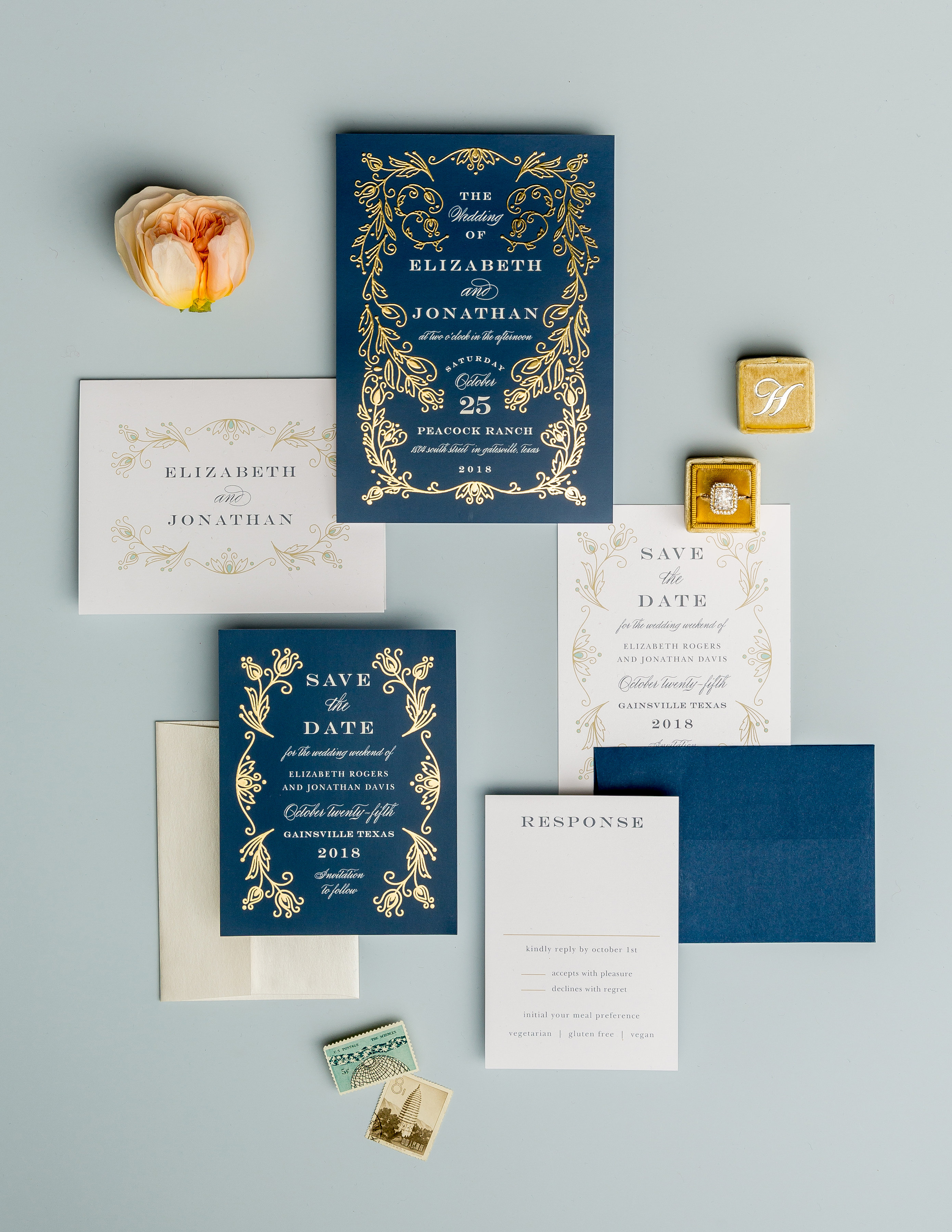 Trendy fall wedding invites with basic invite its a glam thing all foil is good foil but when it comes to fall wedding invites gold foil rules whether its raised or flat gold foil details take any design to the stopboris Choice Image