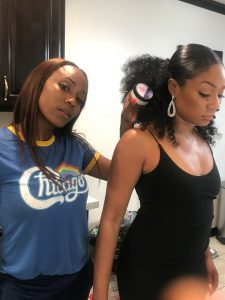 Hairystylist Precious Jackson & Tiffany Haddish