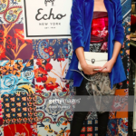 Echo celebrated 95 years of print, pattern and color with style star Natalie Lim Suarez.