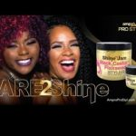 Shine 'n Jam® Black Castor and Flaxseed Oil Styler
