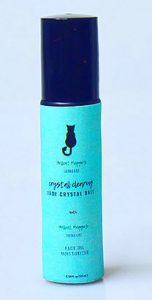 Hell Cat Maggie's Crystal Clearing Crystal Ball with Face Oil Moisturizer