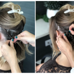 French and Dutch braids create a stunning hairstyle